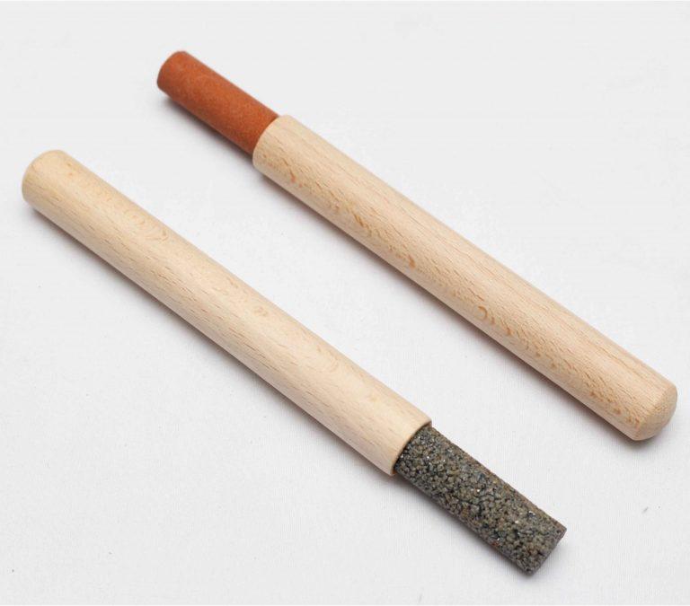 Lápiz rectificador del esmeril y lápiz asentado del filo de la cuchilla para máquina desbastadora